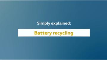 Simply explained: l'impianto pilota per il riciclo di batterie nel sito di Volkswagen Group Components a Salzgitter